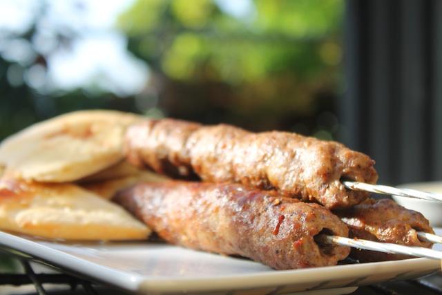 Kofte Kebabs & Pita