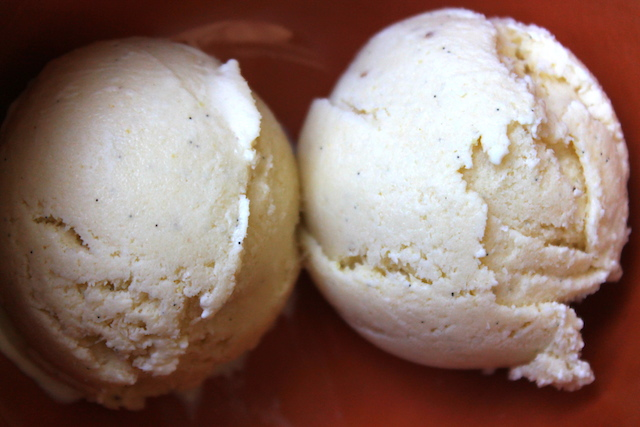 Jamaican ginger ice cream