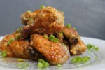 Jamaican Honey-Jerk Chicken Wings