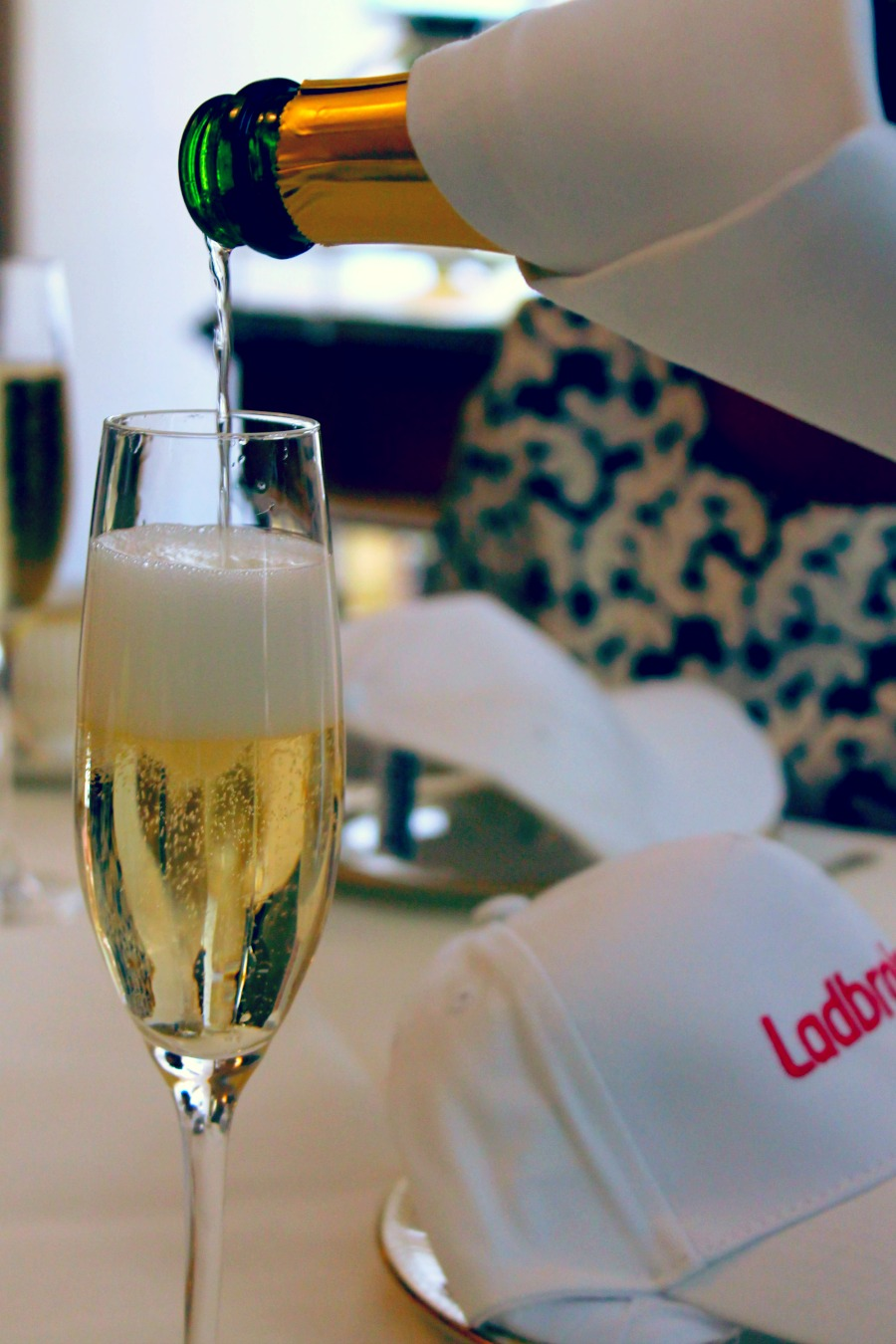 Champagne at Afternoon Tea