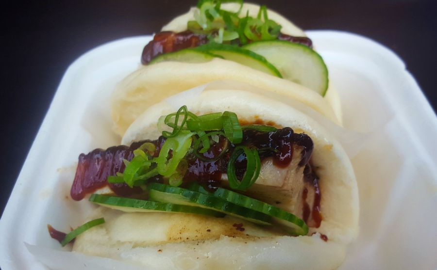 Pork Buns at Yum Bun