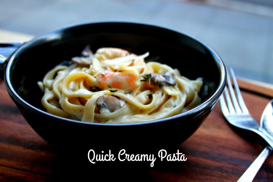 Quick Creamy Pasta