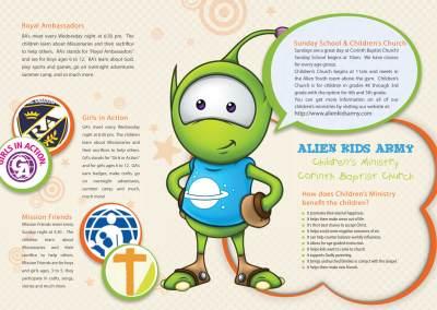 Alien Kids Ministry Branding