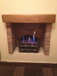 Creating a fire place using Brick slips - PREMIER BRICK SLIPS