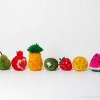 Loving... Pom Pom Fruit {30 Days of Creativity}