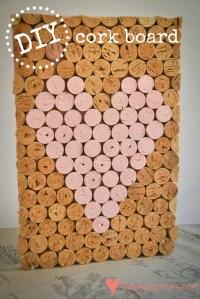 Loving...cork board {DIY}