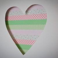 Loving...washi tape art {Cotton Candi colab part 1}