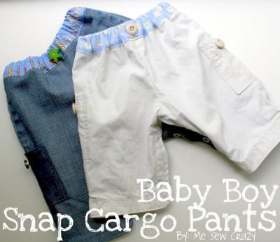 Snap Cargo Pants