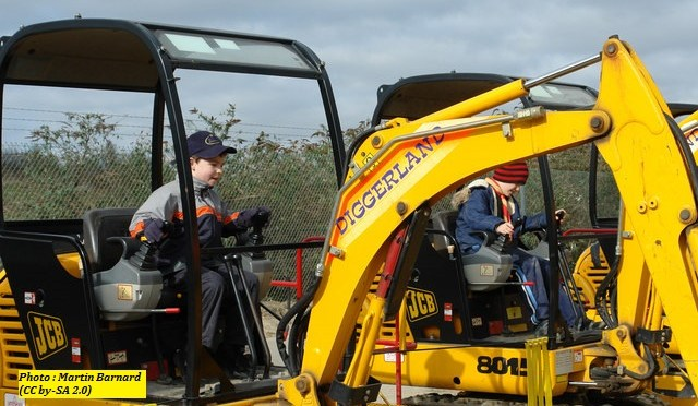 Things to Do In New Jersey – Diggerland USA!