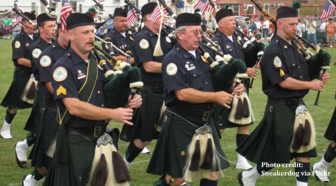 Pipe Band at Wildwood Irish Fall Festival |Things to Do In New Jersey
