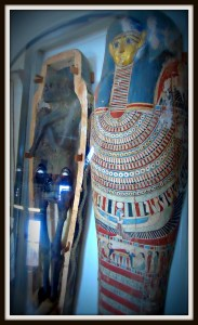 This 2,400 year-old Egyptian mummy can be seen at the Rutgers Geology Museum. | www.thingstodonewjersey.com | #nj #newjersey #rutgers #newbrunswick #mummies #museum #geology #kids #daytrips #thingstodo