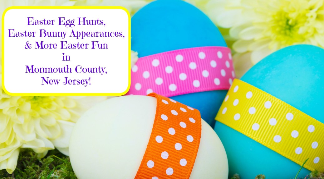 Easter Egg Hunts, EasterBunny appearances, and more Easter fun in Monmouth County, NJ! | find out more at www.thingstodonewjersey.com| #nj #newjersey #monmouthcounty #rumson #seabright #belmar #freehold #farmingdale #keyport #keansburgh #atlantichighlands #easter #egghunts #easterbunny #events #kids #free #thingstodo