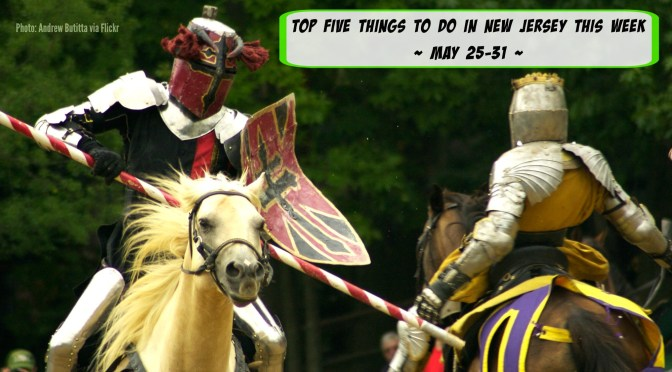 Top 5 Things To Do In New Jersey This Week - #1 is the NJ Renaissance Faire! | find out more at www.thingstodonewjersey.com | #nj #newjersey #festivals #fairs #thingstodo #events #capemay #redbank #augusta #asburypark #bordentown #renaissance #food #music #jazz