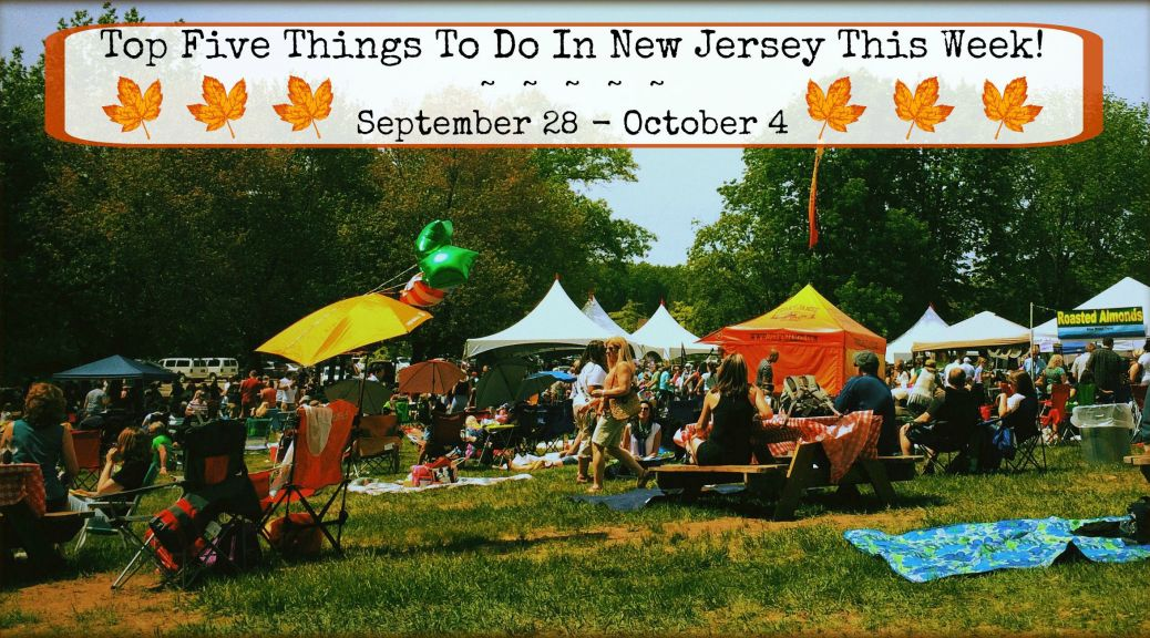 The Grand Harvest Wine Festival is one of this week's top New Jersey events.