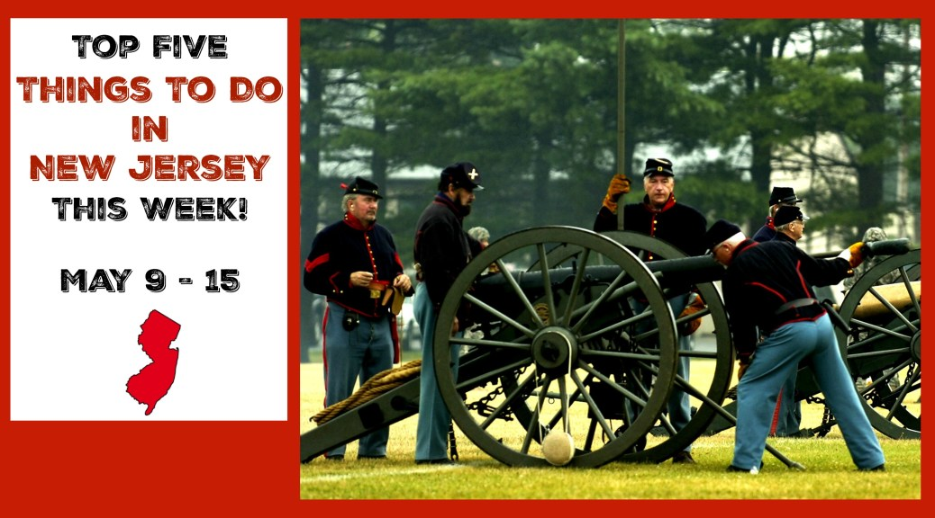 Top Five Things To Do In NJ This Week! Find awesome New Jersey events here! | find out more at www.thingstodonewjersey.com | #NJ #NewJersey #history #festivals #fairs #airshow #familyfriendly #kids #free #events #thingstodo