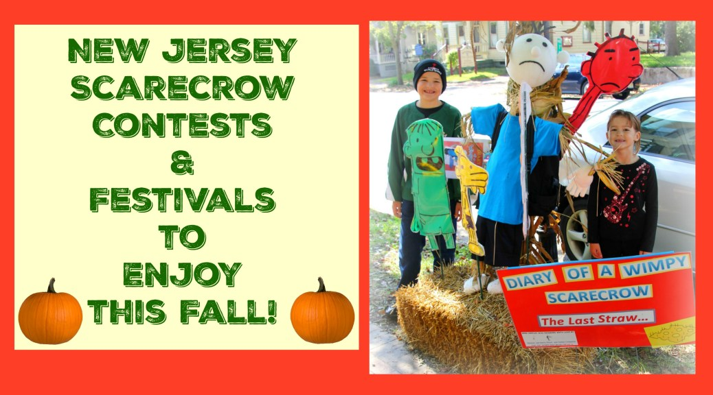 Celebrate fall in New Jersey by gathering your friends or family together to build a scarecrow at these NJ scarecrow contests and festivals! | find out more at www.thingstodonewjersey.com | nj scarecrow festivals | new jersey scarecrow contests | new jersey scarecrow festivals