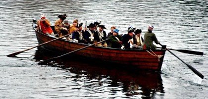 washington crossing reenactment new jersey nj
