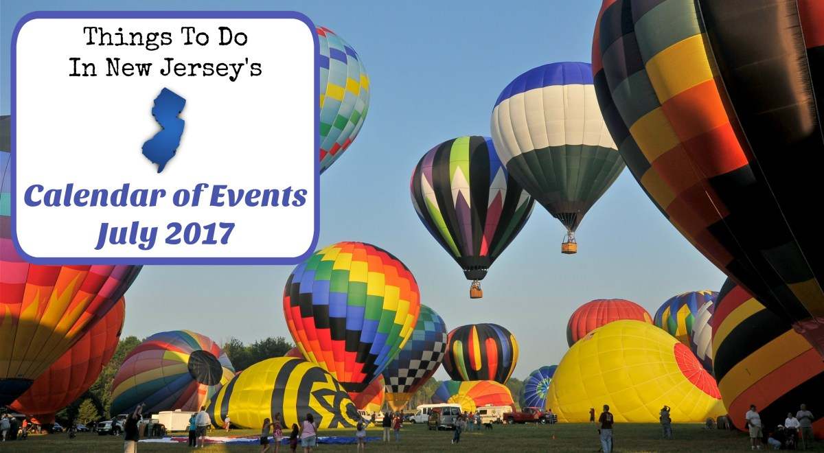 Things To Do In New Jersey - July 2017