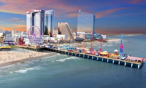 The Atlantic City Steel Pier amusement park has been providing visitors with entertainment and excitement for more than 100 years. | nj amusement parks | new jersey amusement parks | nj theme parks | new jersey theme parks