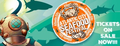 Tickets for the 2017 Atlantic City Seafood Festival are on sale now! | ac seafood festival | things to do in atlantic city nj | things to do at the jersey shore | september 9 2017 | september 10 2017