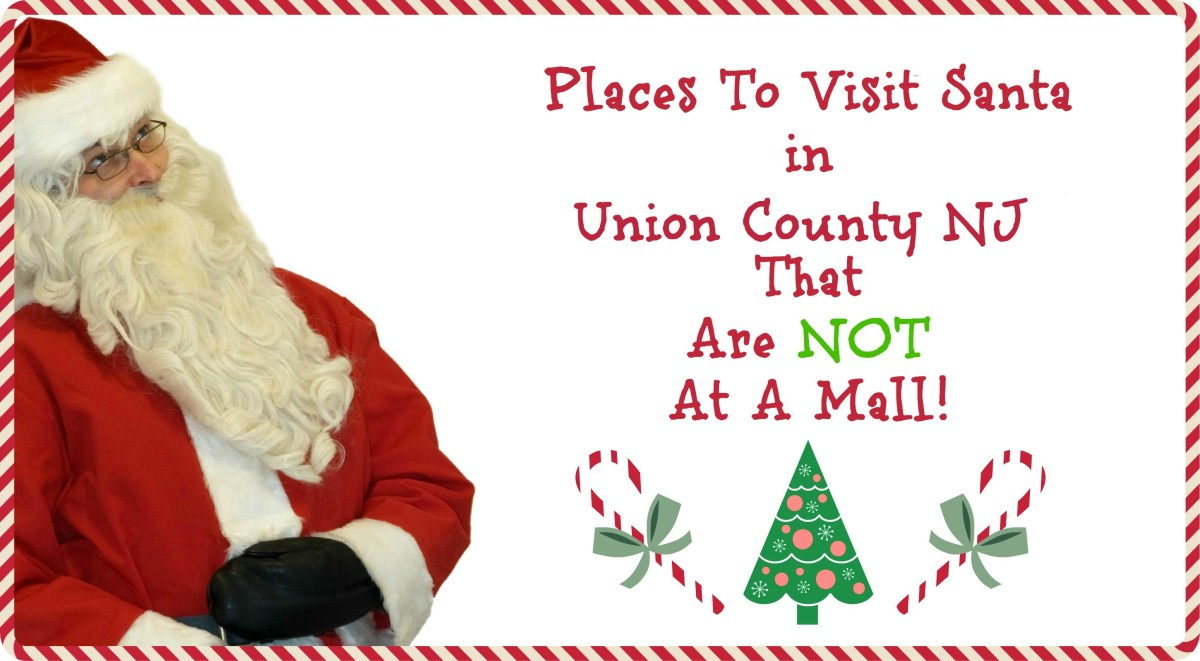 Places to Visit Santa in Union County NJ That Are NOT A Mall!