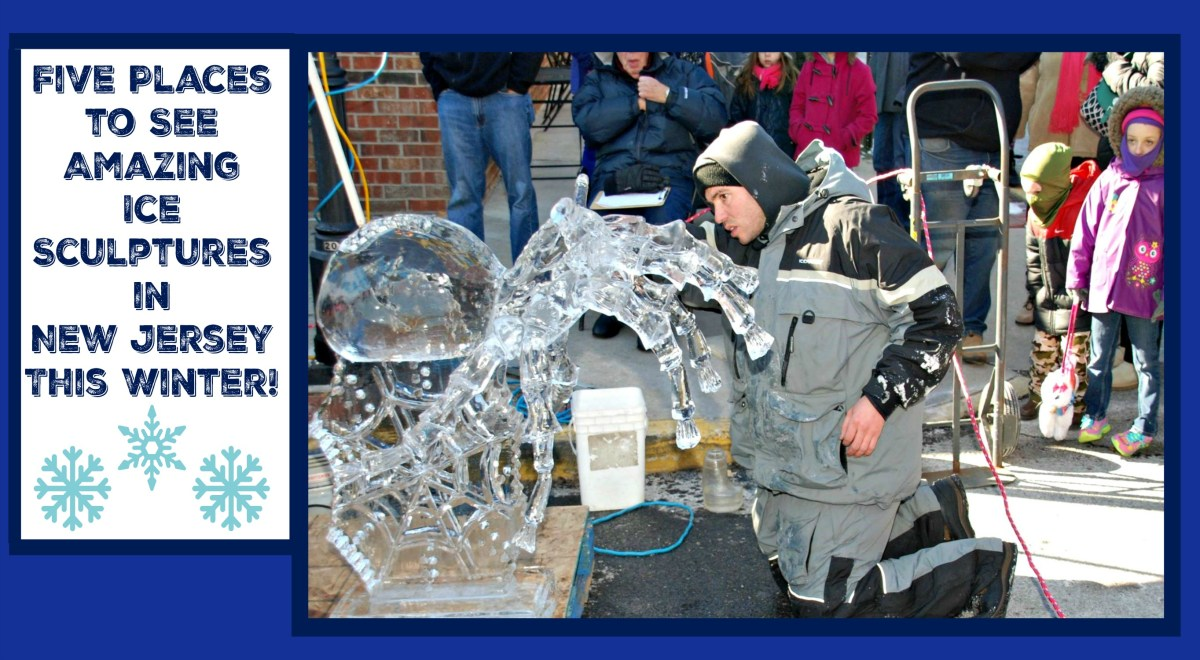 Where To See Ice Sculptures In New Jersey This Winter