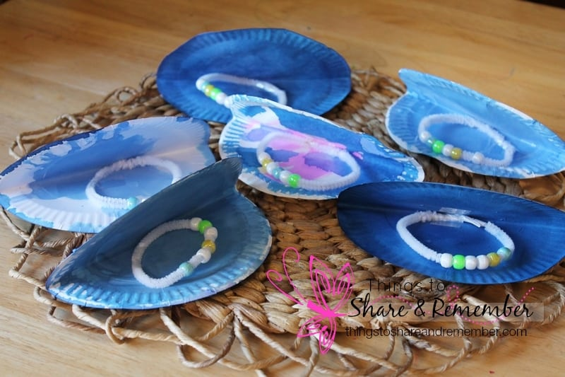 Ocean Commotion Gtgt Oyster Pearls Preschool Craft