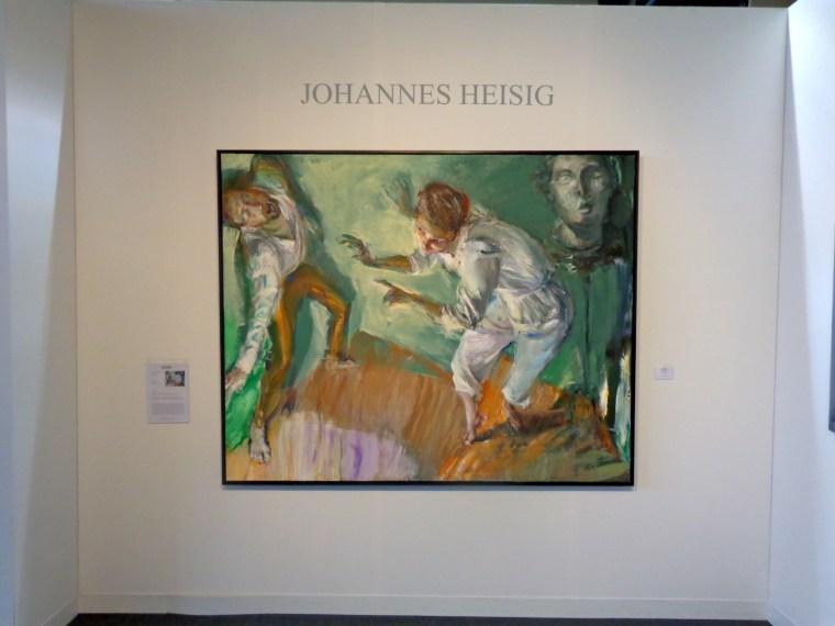 """Performance"" by Johannes Heisig, 2012"