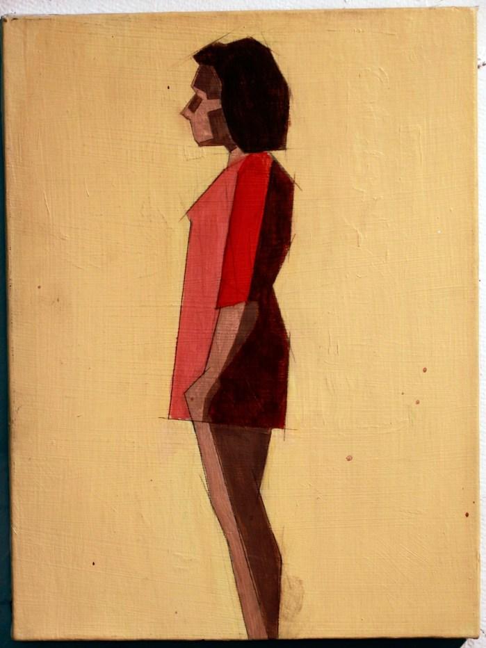 "Untitled, Acrylic on canvas, 12""x16"""