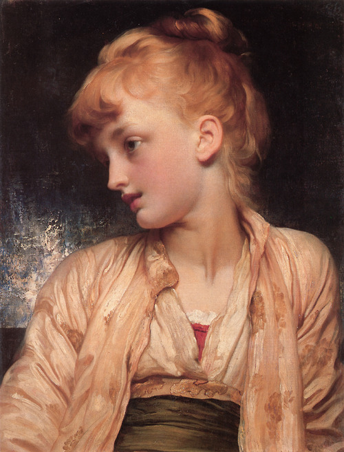 "Frederick Leighton. ""Gulnihal,"" 1886.  Image via High-Five Anyone?"