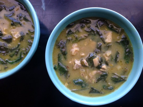 curry chicken coconut soup