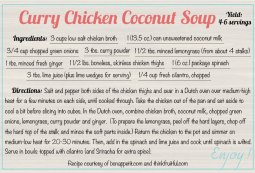 curry-chicken-coconut-soup recipe