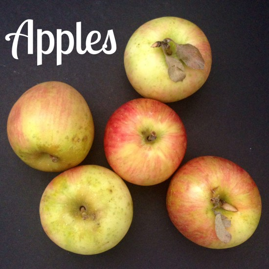 apples: ingredient of the month