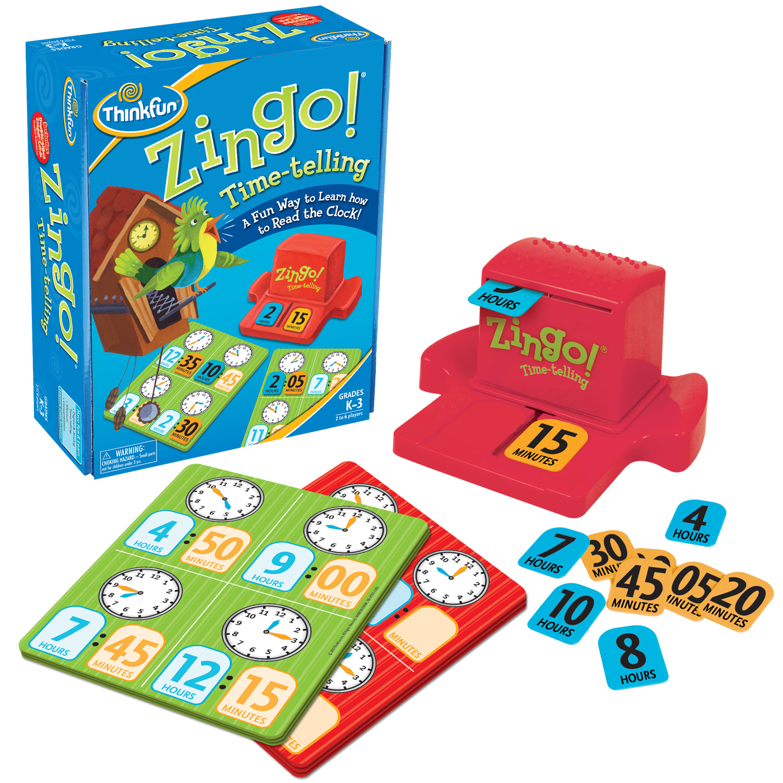 Zingo!® Time-Telling - Thinkfun