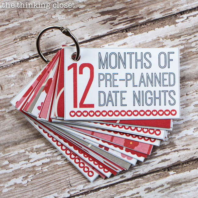101 Creative Date Nights on a Dime! u2014 the thinking closet - printable christmas wish list template