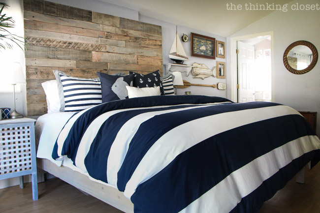 Before \ After Rustic Nautical Master Bedroom Makeover u2014 the - nautical bedroom ideas