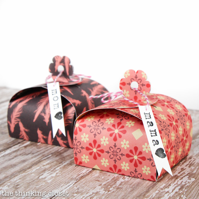 How to Make a Paper Gift Box - the thinking closet