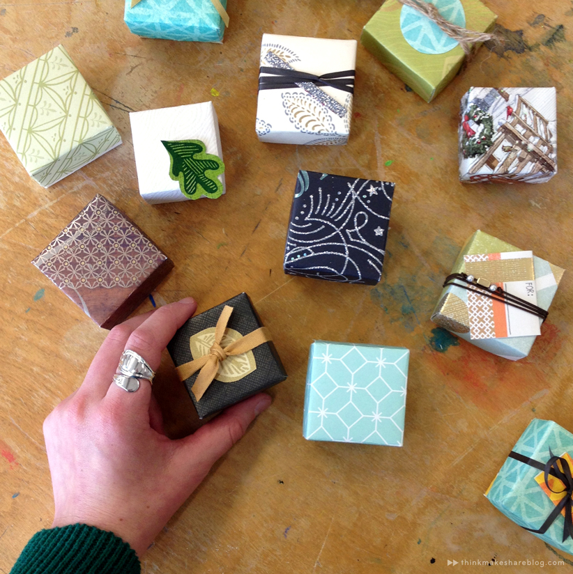 Learn To Make Tiny Gift Boxes Out Of Last Year39s Greeting