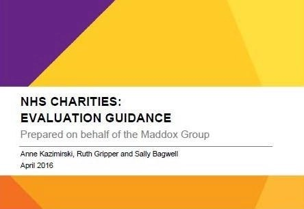 NHS Charities Evaluation guidance - Charity Evaluation