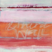 jill martin, contemporary abstract, seattle art, pink, orange