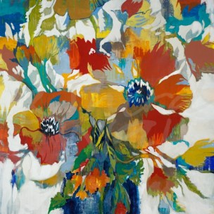 florals, flowers, spring, romance, romantic, botanical, seattle art