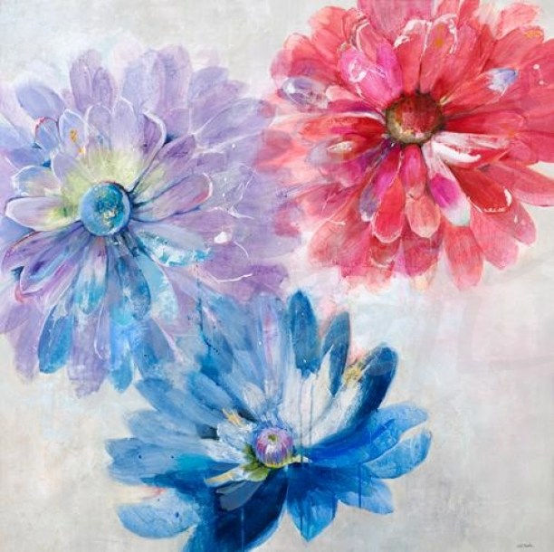 watercolor, floral, transitional, spring, contemporary, Jill Martin