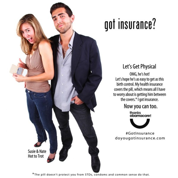 Insulting Obamacare ad from ProgressNow Colorado and the Colorado Consumer Health Initiative