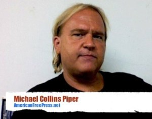 White nationalist conspiracy theorist Michael Collins Piper