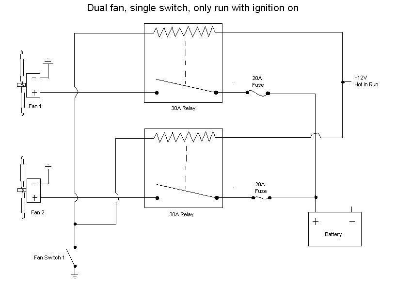 Wiring Diagram For Electric Fan Relay Electronic Schematics