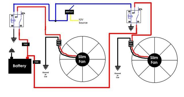 Radiator Fan Wiring Diagram Electronic Schematics collections