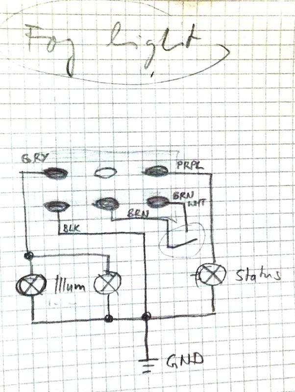 Fog light switch wiring diagram - Third Generation F-Body Message Boards