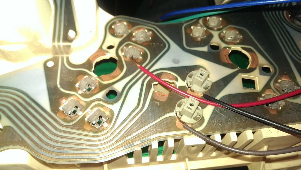 91 Camaro intellitronix gauge install - Third Generation F-Body