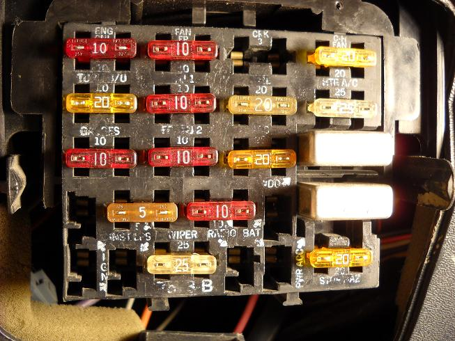 1967 Firebird Fuse Box - Wiring Diagram Progresif