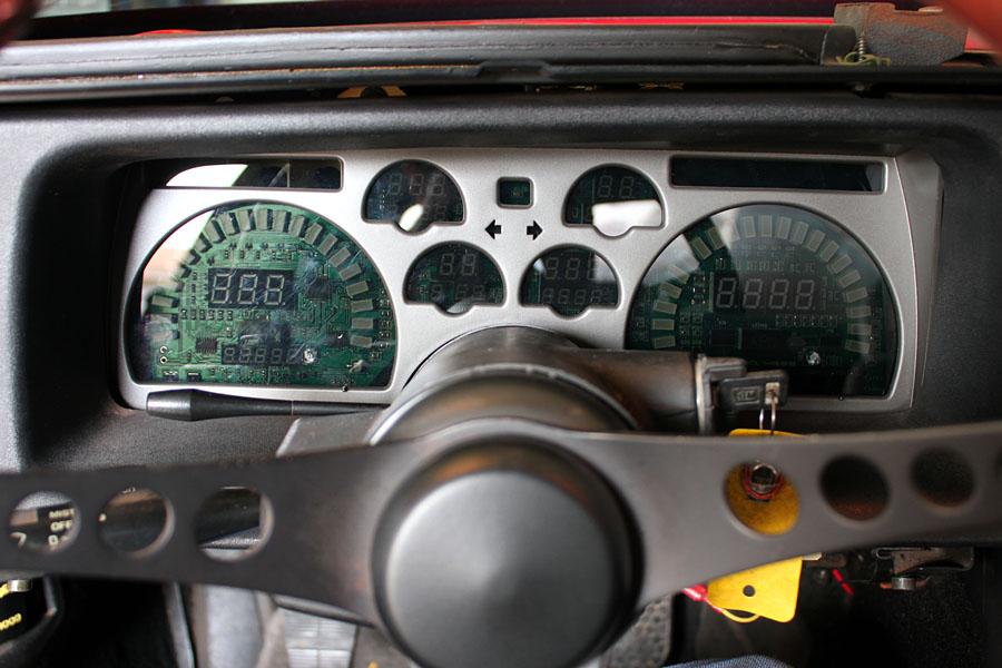 90-92 Intellitronix Digi Dash Prototype In My Hands! - Third
